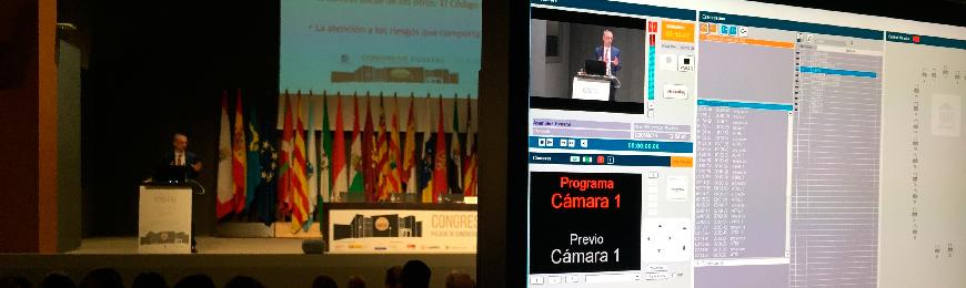 Séneca retransmite el Congreso COSITAL 2018 celebrado en Gijón